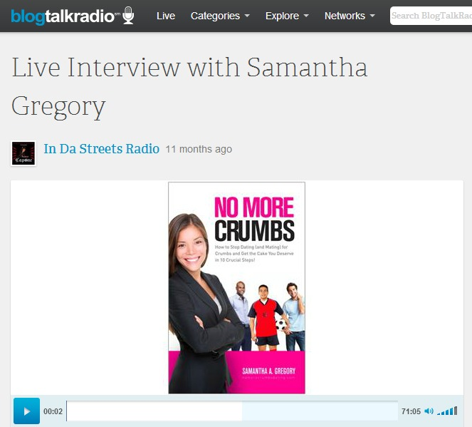 [Author Interview] Talking Toxic Relationships on In Da Streets Radio