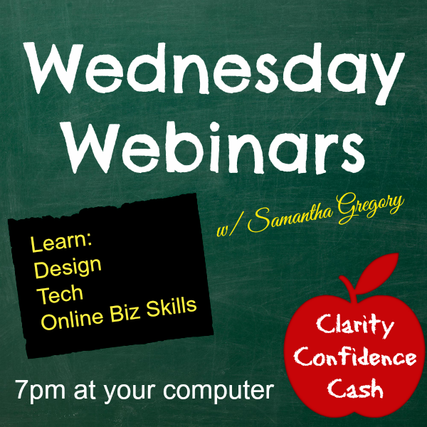 Wednesday Webinars are Coming!