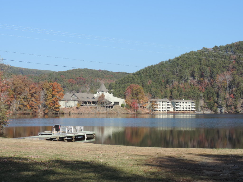 cohutta springs retreat center lake