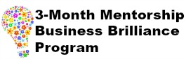 Sign up for the Business Brilliance 3-month program with Samantha Gregory