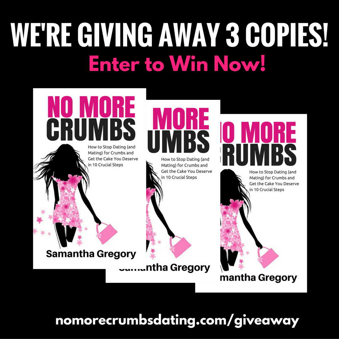 No More Crumbs Dating Book Giveway