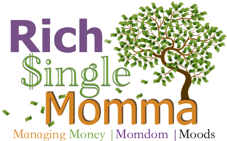 RichSingleMomma website for single mom personal finance, parenting, and personal growth